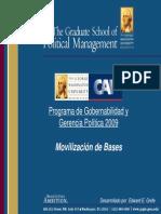 Movilización de Bases