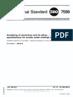 Aluminium Layer Standards - IsO7599 - 1983