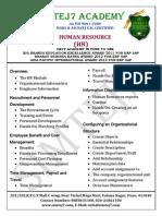 HR Syllabus