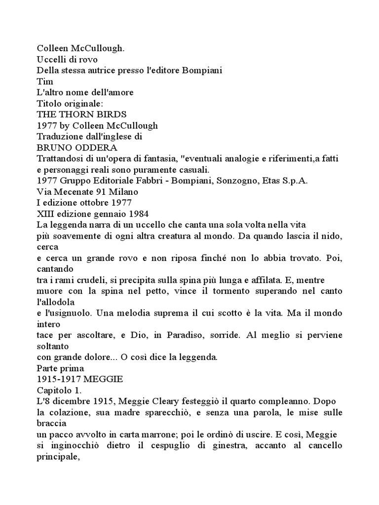 McCullough-Uccelli Di Rovo dab2b80f441