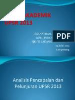 Audit Upsr 2013