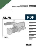 Manual Canon Xl-h1