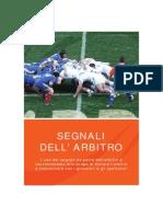 Segnali Arbitro Regolamento 2013 Fir