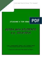 Guida Studente 2013-4