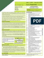 Financial Aid Application