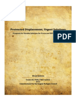 Protracted Displacement, Urgent Solutions: