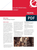 NORTEL - Backbone Transport