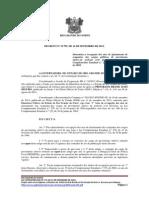 DECRETO N 23.795 Determina a revogação dos atos de afastamento de ocupantes dos cargos públicos de provimento efetivo de policial civil de que trata a Lei Complementar Estadual n.º 270