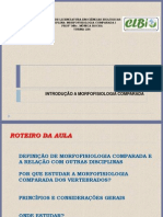 Aula 01-Introd. Morfo Comparada-LB6