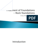 Treatment of Foundations