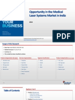 Opportunity in the Medical Laser Systems Market in India_Feedback OTS_2013