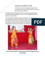 Introduction to Interpretive Dance in India