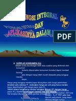 Integral Dan Aplikasinya