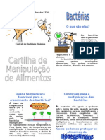 Cartilha Do Manipulador de Alimentos Adaptada - ANVISA