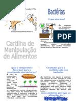 Cartilha Do Manipulador de Alimentos Adaptada - ANVISA