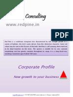 RedPine Corporate Profile