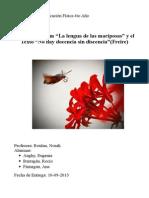 Análisis de la Pelicula la lengua de las mariposas