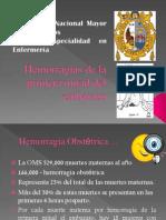 Hemorragia Ginec Expo