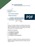 Leccion Evaluativa 1 Metodologia de La Investigacion