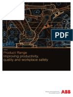 ABB Robotics Product Range Brochure 2013
