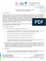 Guideline No. en - 015 Control of Substances Hazardous to Health and Danger