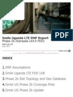 Smile Uganda LTE RNP Phase2b Update