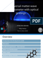 A universal matter-wave interferometer with optical gratings in the time domain