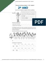 Atividades de Matematica Para Educação Infantil - 2º ANO - Atividade 5