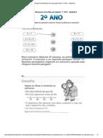 Atividades de Matematica Para Educação Infantil - 2º ANO - Atividade 9