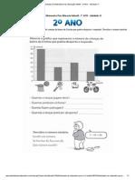 Atividades de Matematica Para Educação Infantil - 2º ANO - Atividade 11