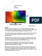 Mito Benamkan Player DVD Di TV LED