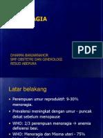 MENORAGIA