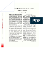 Congenital Malformation of Cns-American Journal of Clinical Nutrition