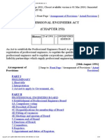 Professional Engineers Act