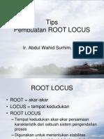 Tips p Embu at an Root Locus
