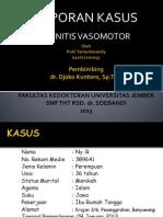 Laporan Kasus Rhinitis Vasomotor