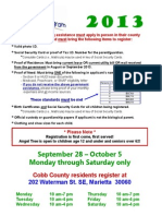 angel tree registration appointment flyer- marietta