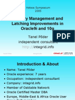 Memory Management and Latching