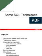 SQL Techniques