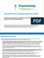 The State of the Franchise Economy in 2013