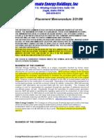 Aehi Stock Document