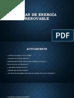 PALAN DE ENERGÍA RENOVABLE