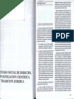 Ernesto Pinilla Campos - Estado Social de Derecho, Investigaciòn Cientifica y Tradicion Jurídica. Revista Politeia No 13, 1993.