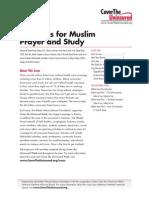 Materials for Muslim Prayer