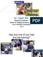 Firstaid Training Medical 2013