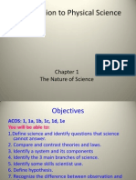 intro to science notes including scientific method