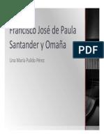 Unidad 3 Francisco de Paula Santander - Lina María Pulido Pérez