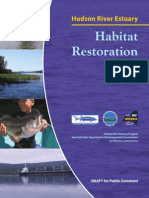 Hudson River Estuary Habitat Restoration Plan