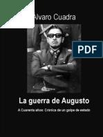 Alvaro Cuadra La Guerra de Augusto