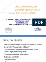 Randall Wray - Fiscal Cliff